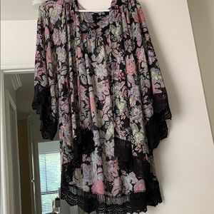 Floral Cardigan/Cover Up
